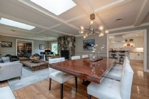 Dining area - Country homes for sale and luxury real estate including horse farms and property in the Caledon and King City areas near Toronto