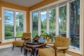 Family room view - Country homes for sale and luxury real estate including horse farms and property in the Caledon and King City areas near Toronto