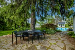 Stone patio  - Country homes for sale and luxury real estate including horse farms and property in the Caledon and King City areas near Toronto