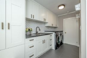 Laundry room - Country homes for sale and luxury real estate including horse farms and property in the Caledon and King City areas near Toronto