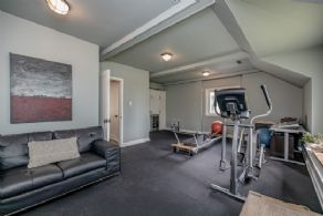 Home gym/music room - Country homes for sale and luxury real estate including horse farms and property in the Caledon and King City areas near Toronto