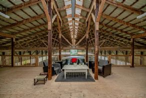 Lounge in loft - Country homes for sale and luxury real estate including horse farms and property in the Caledon and King City areas near Toronto