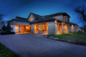 View at Night - Country homes for sale and luxury real estate including horse farms and property in the Caledon and King City areas near Toronto