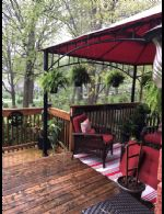 Charming Deck Garden - Country homes for sale and luxury real estate including horse farms and property in the Caledon and King City areas near Toronto